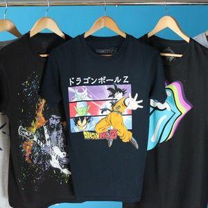 Dragon Ball Z Blue T-Shir